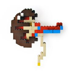 anatomy and legos? I'm in!    anatomical lego design of the kidney (Maya Shoemaker via Street anatomy)