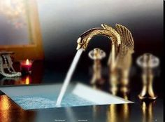 Special Offers - bathroom faucet Lavatory Faucet Vessel SinkThree-hole faucet swans crystal gold hot and cold taps Deluxe Continental faucet - In stock & Free Shipping. You can save more money! Check It (April 04 2016 at 01:34PM) >> http://bathroomvanitiesusa.net/bathroom-faucet-lavatory-faucet-vessel-sinkthree-hole-faucet-swans-crystal-gold-hot-and-cold-taps-deluxe-continental-faucet/