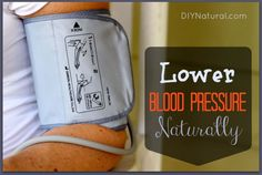 Lower blood pressure naturally using the tips listed in this article - there are a lot of things you can do rather than taking prescription medication.