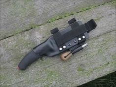Mora Knife and Sheath Modifications - YouTube