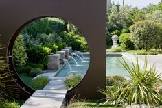 Narrowed view creates interest..this would be great for a zen garden entrance