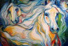 """""""Equus Trio"""" par Marcia Baldwin"""