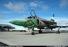 Saab JA37DI Viggen aircraft