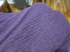 Skies are Blue Abela Open Cardigan Knit Detail - LOVE this color