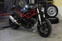 Ducati Monster 695 by Cafe Racer Dreams Yamaha Cafe Racer, Inazuma Cafe Racer, Cafe Racer Build, Cafe Racer Motorcycle, Cafe Racers, Women Motorcycle, Motorcycle Quotes, Motorcycle Helmets, Ducati Monster 620