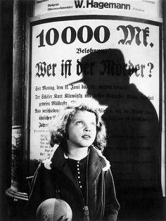 Fritz Lang - M. Viendo esta peli me pregunto...Hasta qué punto aplicar las leyes es justo