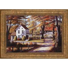 Paragon Rustling Leaves by Saunders Landscapes - 32 X 44 $270