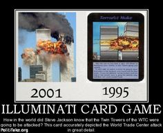 Illuminati Card Game Twin Towers | CARD GAME How in the world did Steve Jackson know that the Twin Towers ...
