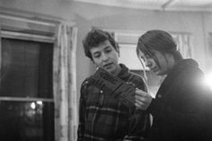 Bob Dylan with Suze Rotolo
