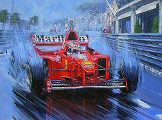 Michael Schumacher: The Rain King Autographed by Michael Schumacher