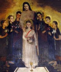 St. Symphorosa and Her Seven Sons, martyrs,  pray for us.  Feast day July 18.