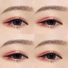 Peachy Shade Makeup