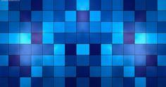 Blue Cubes Background- 50 Best Twitter Backgrounds