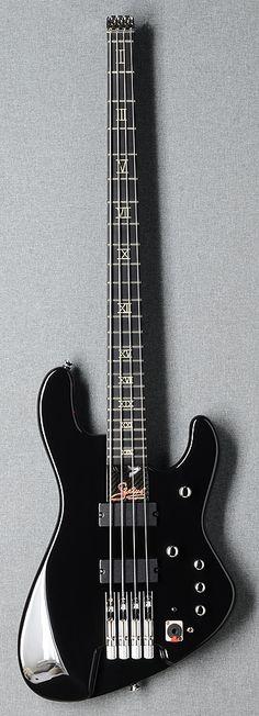 Status Graphite B2 headless - A modified version of the original bass designed by John Entwistle