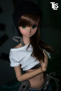 Smart Doll Ebony by TheLoneSlender