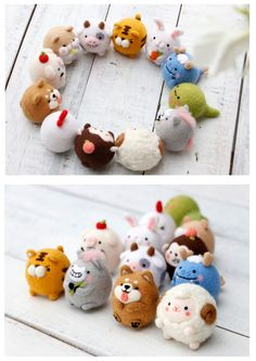 Needle Felted Animals, Felt Animals, Felt Diy, Felt Crafts, Wet Felting, Needle Felting, Wool Dolls, Fibre And Fabric, Cute Polymer Clay