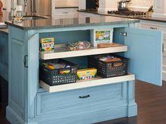 19 Kitchen Cabinet Storage Systems : Home Improvement : DIY Network