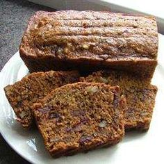 Date and nut loaf cake recipe - All recipes UK to 40 mins in x base pan at 170 c. Fruit Loaf Recipe, Loaf Recipes, Baking Recipes, Cake Recipes, Dessert Recipes, Date Nut Loaf Recipe, Date And Walnut Loaf, Date Loaf, Date Nut Bread