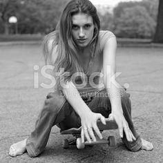 Girls feet young barefoot