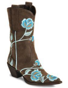 Roper Women's Rockstar Embroidered Boot