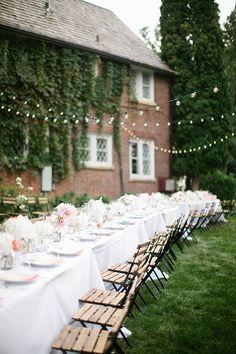 Vibrant Minnesota Wedding, Romantic Outdoor Seating