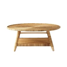 Natural Woven Coffee Table | Serena U0026 Lily