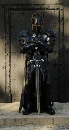 A Medieval Batman Armor...