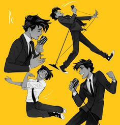 www.princecanary.tumblr.com  It wouldn't let me pin it from the site, but I love, love, love this character!