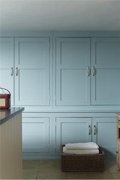 Bathroom (Farrow and Ball paint colors for kitchen: Blue Ground #210 for cabinets and Wimborne White #239 for trim)