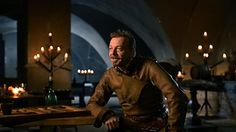 BBC One - The Musketeers, Hugo Speer unwraps Captain Treville