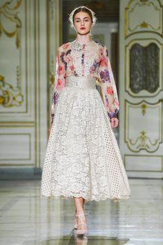 Luisa Beccaria Ready To Wear Spring Summer 2016 Milan - NOWFASHION