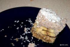 Raw banana coconut creamcake