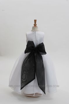 2022WBRR - Flower Girl Dress Style 2022-BUILD YOUR OWN DRESS! Choice of 139 Sash and 51 Flower Options! - First Communion Dresses - Flower Girl Dress For Less