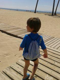 Dia de de playa ...en el mes de abril:)