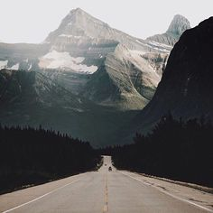 Direct pursuit of bigger mountains | Icefields Parkway, AB by @hannes_becker