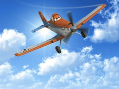 Planes - Dusty in the Sky - Wall Mural & Photo Wallpaper - Photowall