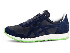 <p>Meet the DUALIO. This clean, low-profile shoe is based on an Onitsuka Tiger running classic – the Montreal – created for the 1976 Games. Wear this shoe to track the backstreets on a weekend city break, or glide through the daily commute with classic, understated style.</p>  <p>Get excellent flexibility and comfort, as well as an old-school look with details inspired by the 1976 original – grooves in the midsole and a cut-out arch. We don't bring a shoe back without good reason and with…