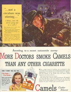 1946 Camel More Doctors Smoke Camels