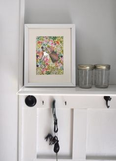magnetssomething magnetic pretty paperfabric picture frame no glass - Muji Frames