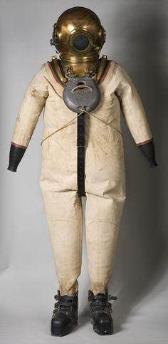 Diving Suit c1840 - 1960