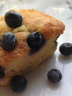 Blueberry-Corn Flour