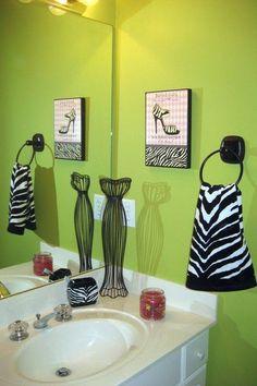 zebra bathroom decor on pinterest zebra bathroom zebra