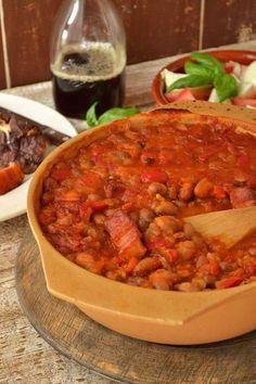 Zapečeni grah/Baked beans - VOLIM MESO