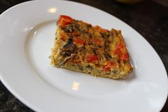 Crustless Paleo Breakfast Quiche