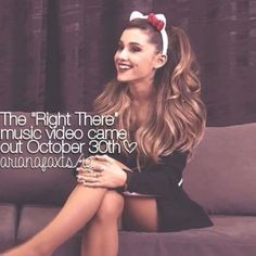 One yearaversary almost here! Ariana Grande Justin Bieber, Ariana Grande Quotes, Ariana Grande Facts, She Was Beautiful, Beautiful Voice, Imperfection Is Beauty, Star Wars, Dangerous Woman, Female Singers