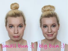 polkadot.: HOW TO: big and high ballerina bun (especially for short hair). easy peasy! -- I somehow can never do a bun without it looking stupid, so hopefully i'll learn this summer