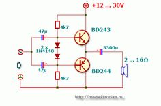 Electronic Circuit Design, Electronic Engineering, Dc Circuit, Circuit Diagram, Home Theater Amplifier, Electronics Projects For Beginners, Hifi Amplifier, Electronic Schematics, Electric Circuit