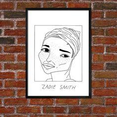 badly drawn zadie smith