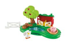 Amazon.com: Fisher-Price Little People Farm Pond and Pig Pen Playset: Toys & Games