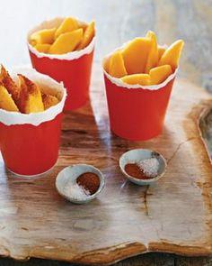 Mango Wedges with Chili Recipe